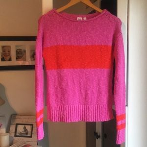 Gap colourful chunky knit sweater!